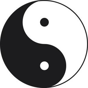 Die Yin und Yang Monade